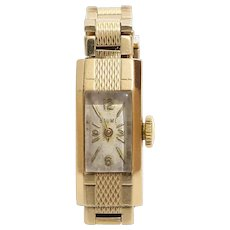 Baume Mercier Ladies Watch | 9K Yellow Gold | Swiss Vintage Retro UK