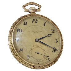 Tissot Gold Pocket Watch | 14K Yellow Gold | Swiss Victorian Antique
