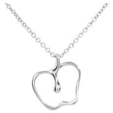 Tiffany Apple Pendant Necklace | Sterling Silver 925 | Elsa Peretti
