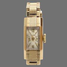 Baume Mercier Ladies Watch   9K Yellow Gold   Swiss Vintage Retro UK