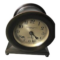 "1930's Chelsea ""Base and Ball"" ship's bell clock COMMODORE model"