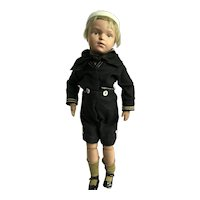 Schoenhut sailor boy doll, original clothing, excellent condition!