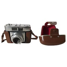 Zeiss Ikon Contina camera with original leather case