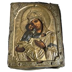 Antique icon, exhibited at San Francisco Museum