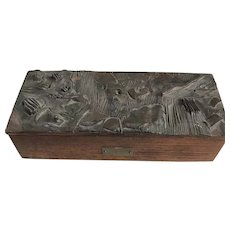 USS Yankee, Spanish American War, box made from ship remains