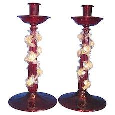 Venetian Candleholders