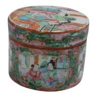 Rose Medallion Covered Box