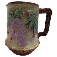 Majolica Pitcher Antique