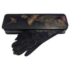Glove Box, papier mache