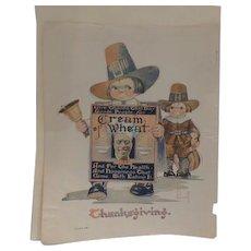 Thanksgiving Cream of Wheat Ad