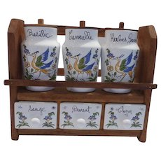 French Spice Rack