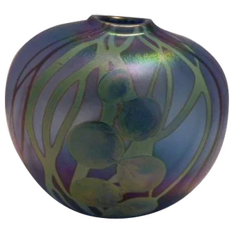 American Art Glass Vase