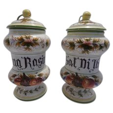Apothecary Style Jars
