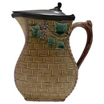 Majolica Pitcher