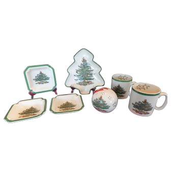 Christmas Tree China by Spode