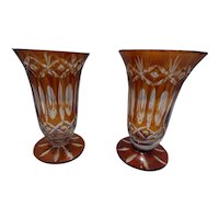 Topaz Cut to Clear, pr. goblets