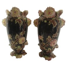 Majolica Vases Antique