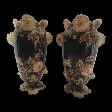 Majolica Vases Antique