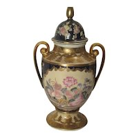 Urns, Hand Painted Porcelain