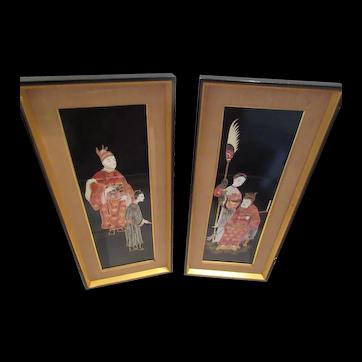 Vintage Framed  Tiles