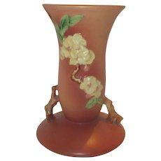Roseville Freesia Vase