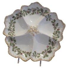 Limoges T&V Oyster Plate