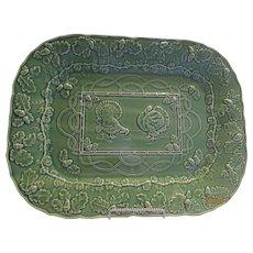 Majolica Turkey Platter