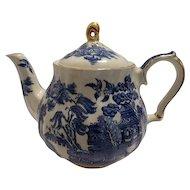 Blue Willow Tea Pot