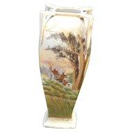 Nippon Scenic Vase