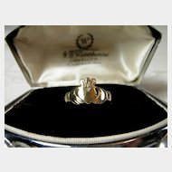 9ct. Gold Irish Claddagh Ring