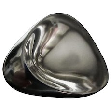 Georg Jensen Sterling Brooch No. 328 by Nanna and Jorgen Ditzel