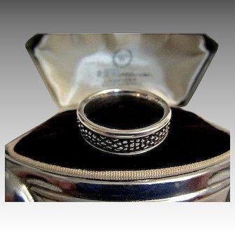 Georg Jensen Sterling Silver Ring/Band No. 426 Designed by Lene Munthe