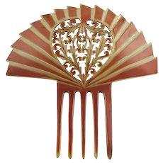 Vintage Mantilla Edwardian Era Comb