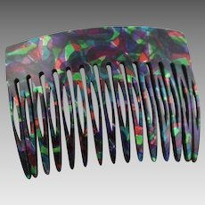 Fantastic Vintage Hair Comb Made In France