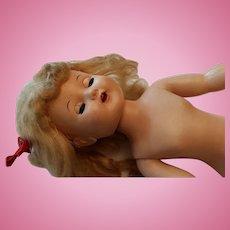 Marked Vintage Hard Plastic Doll