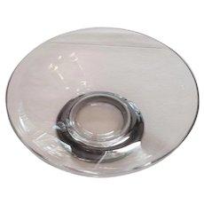 Vintage Glass & Sterling Bowl