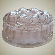 Vintage Thick Glass Mouse/Pate` Mold