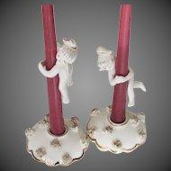 Vintage Candle Huggers & Holders
