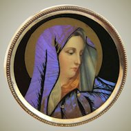 Outstanding Blessed Mary Butterfly Art Picture
