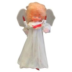 Vintage Electric Angel Tree Topper
