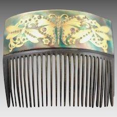 Astonishingly Beautiful Antique Hair Comb