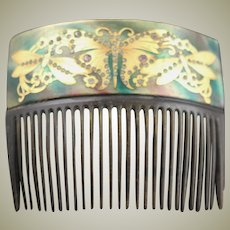 Astonishingly Beautiful Antique Hair Comb