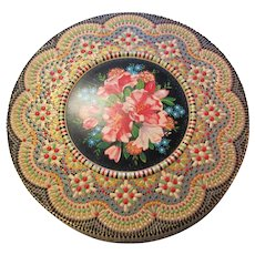 Made In Holland Punched Painted Tin