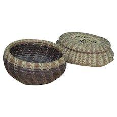 Outstanding Miniature Hand Made Baskets