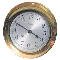 Handcrafted Chelsie Brass Clock