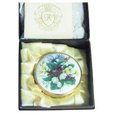 Wonderful Kingsley Enamel Box In Original Box