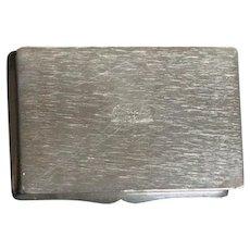European Hallmarked Solid Sterling Box