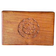 Handmade In India Wood Box