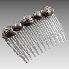 Vintage Sterling Silver Combs