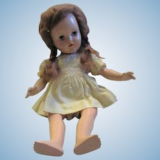 Hard Plastic Walking Doll by Ideal Toy Co.